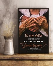 To My Wife - You Are My Queen Forever - Poster 16x24 Poster lifestyle-poster-3
