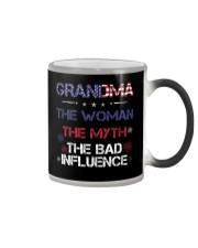 Grandma The woman The myth The bad influence Color Changing Mug thumbnail