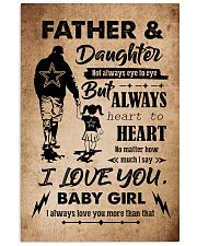 DAUGHTER - TAKE MY HAND - FATEHR AND DAUGHTER 16x24 Poster front