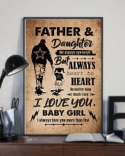 DAUGHTER - TAKE MY HAND - FATEHR AND DAUGHTER 16x24 Poster lifestyle-poster-2