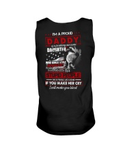 T-SHIRT - TO MY DAUGHTER - I'M A PROUD DADDY Unisex Tank thumbnail