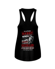 T-SHIRT - TO MY DAUGHTER - I'M A PROUD DADDY Ladies Flowy Tank thumbnail