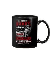 T-SHIRT - TO MY DAUGHTER - I'M A PROUD DADDY Mug thumbnail