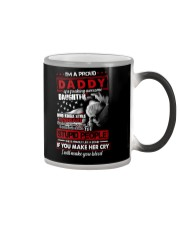 T-SHIRT - TO MY DAUGHTER - I'M A PROUD DADDY Color Changing Mug thumbnail