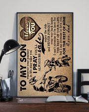 To My Son - Motorcycling - Wherever Your Journey 16x24 Poster lifestyle-poster-2
