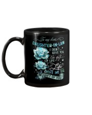 To My Daughter-in-law - Galaxy Rose Mug back