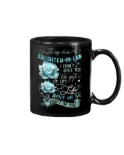 To My Daughter-in-law - Galaxy Rose Mug front