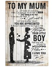 SON TO MUM 16x24 Poster front