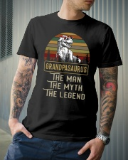 T-SHIRT - TO GRANDFATHER - THE LEGEND Classic T-Shirt lifestyle-mens-crewneck-front-6