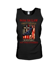 SON-IN-LAW - GOD - VINTAGE - YOU VOLUNTEERED Unisex Tank thumbnail