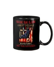 SON-IN-LAW - GOD - VINTAGE - YOU VOLUNTEERED Mug thumbnail