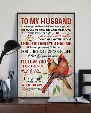 TO MY HUSBAND - CARDINALS - I LOVE YOU 16x24 Poster lifestyle-poster-2