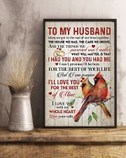 TO MY HUSBAND - CARDINALS - I LOVE YOU 16x24 Poster lifestyle-poster-3