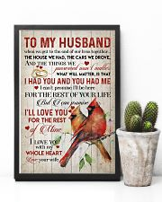 TO MY HUSBAND - CARDINALS - I LOVE YOU 16x24 Poster lifestyle-poster-8