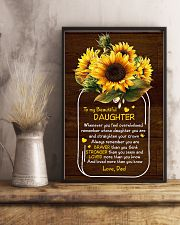 Dad To Daughter - Whenever You Feel Overwhelmed 16x24 Poster lifestyle-poster-3