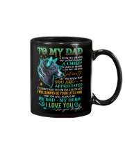 DAUGHTER TO DAD Mug front