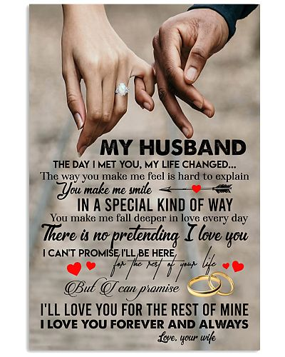 TO MY HUSBAND - HAND IN HAND - I LOVE YOU