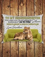 Grandma to Granddaughter - I Am The Storm Rectangular Pillowcase aos-pillow-rectangle-front-lifestyle-2