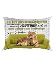 Grandma to Granddaughter - I Am The Storm Rectangular Pillowcase front