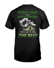 T-SHIRT - DAD AND DAUGHTER - GOD Classic T-Shirt back