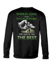 T-SHIRT - DAD AND DAUGHTER - GOD Crewneck Sweatshirt thumbnail