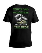 T-SHIRT - DAD AND DAUGHTER - GOD V-Neck T-Shirt thumbnail
