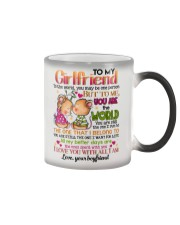 TO MY GIRLFRIEND Color Changing Mug thumbnail