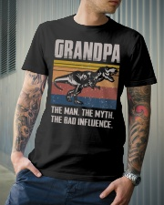 T-SHIRT - TO GRANDPA - THE BAD INFLUENCE Classic T-Shirt lifestyle-mens-crewneck-front-6