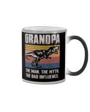 T-SHIRT - TO GRANDPA - THE BAD INFLUENCE Color Changing Mug thumbnail