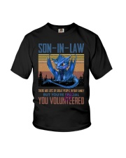 SON-IN-LAW - DRAGON - VINTAGE - YOU VOLUNTEERED Youth T-Shirt thumbnail