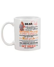 DEAR DADDY - CARTOON - THANK YOU Mug back