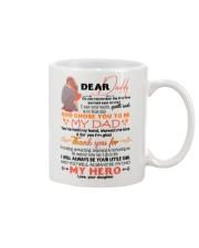 DEAR DADDY - CARTOON - THANK YOU Mug front
