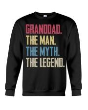 GRANDDAD - THE MYTH - THE LEGEND Crewneck Sweatshirt thumbnail