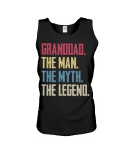 GRANDDAD - THE MYTH - THE LEGEND Unisex Tank thumbnail