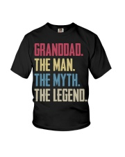 GRANDDAD - THE MYTH - THE LEGEND Youth T-Shirt thumbnail