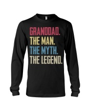 GRANDDAD - THE MYTH - THE LEGEND Long Sleeve Tee thumbnail