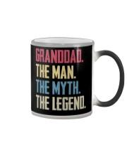 GRANDDAD - THE MYTH - THE LEGEND Color Changing Mug thumbnail