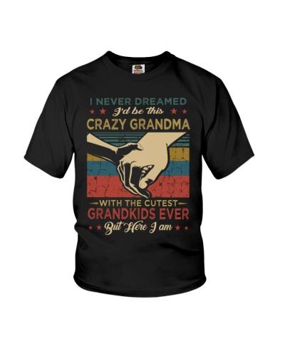GRANDMA - VINTAGE - CRAZY GRANDMA
