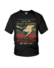 GRANDMA - VINTAGE - CRAZY GRANDMA Youth T-Shirt thumbnail