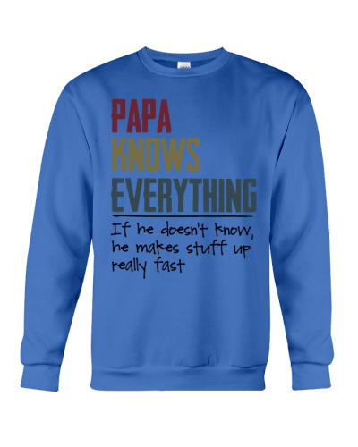 Papa knows everything If he doesn't know