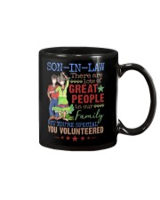 SON-IN-LAW - HIPPIE - VINTAGE - YOU VOLUNTEERED Mug front