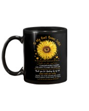 TO MY SISTER-IN-LAW - SUNFLOWER - THANK YOU Mug back
