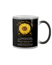 TO MY SISTER-IN-LAW - SUNFLOWER - THANK YOU Color Changing Mug thumbnail