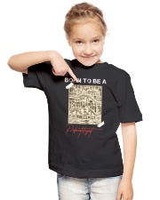 TO KIDS - BORN TO BE - SCHOOLg Youth T-Shirt lifestyle-youth-tshirt-front-2