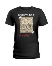 TO KIDS - BORN TO BE - SCHOOLg Ladies T-Shirt thumbnail