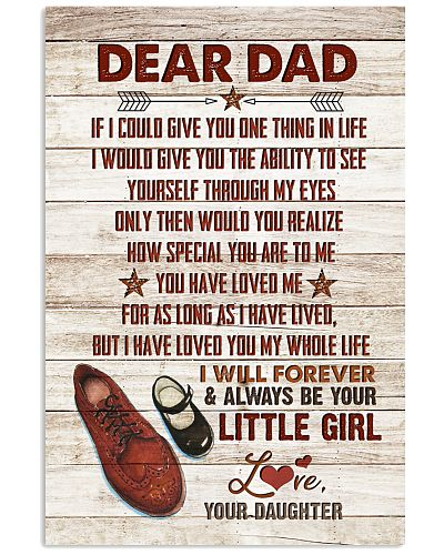 POSTER - TO MY DAD - SHOES - IF I COULD GIVE YOU