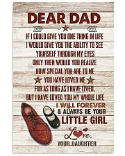 POSTER - TO MY DAD - SHOES - IF I COULD GIVE YOU 16x24 Poster front