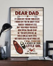 POSTER - TO MY DAD - SHOES - IF I COULD GIVE YOU 16x24 Poster lifestyle-poster-2