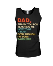 Dad Thank you for teaching me  Unisex Tank thumbnail