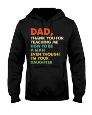 Dad Thank you for teaching me  Hooded Sweatshirt thumbnail